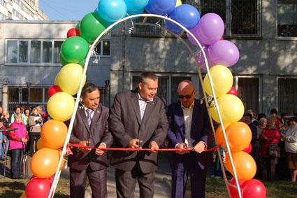 В Тихвине открыта «особенная» спортплощадка