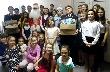 Юные тихвинцы провели праздничный «добротур»